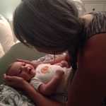 Cranial Sacral Therapy with Evelyn Fox and her adorable baby friend. Photo credit Kristine Mengle Fortenberry