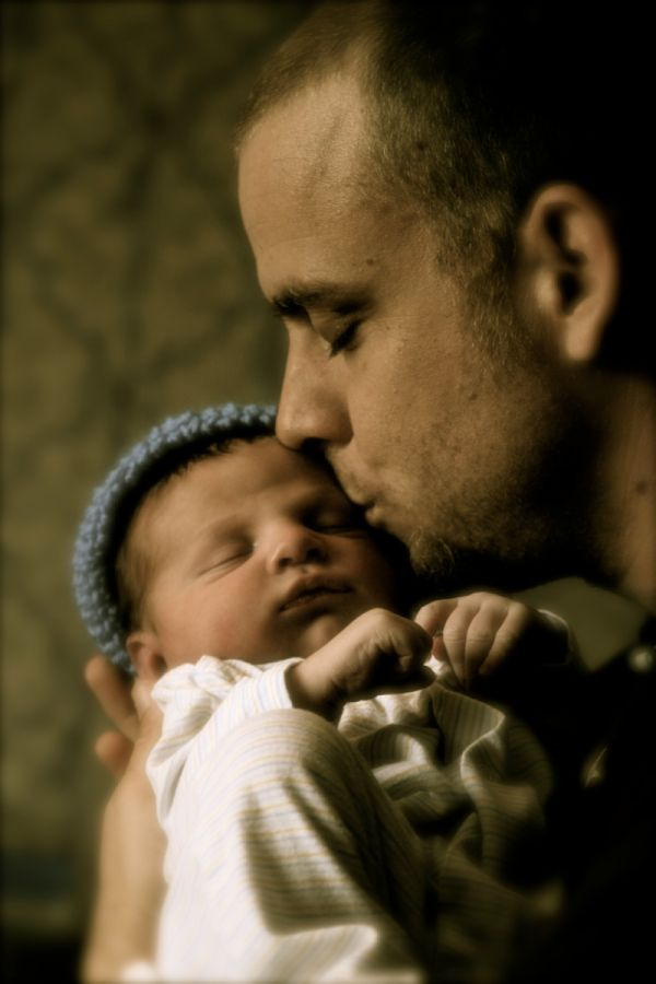 Dad and Baby