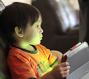 young-boy-on-tablet